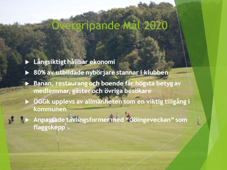 Övergripande Mål 2020 Långsiktigt hållbar ekonomi