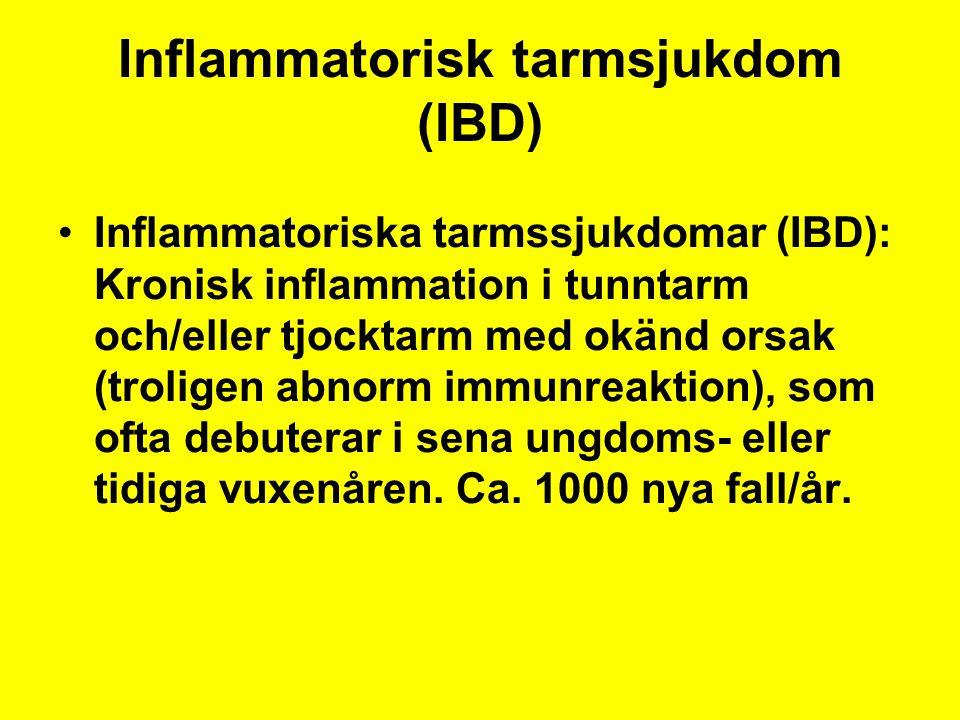 Inflammatorisk tarmsjukdom (IBD)