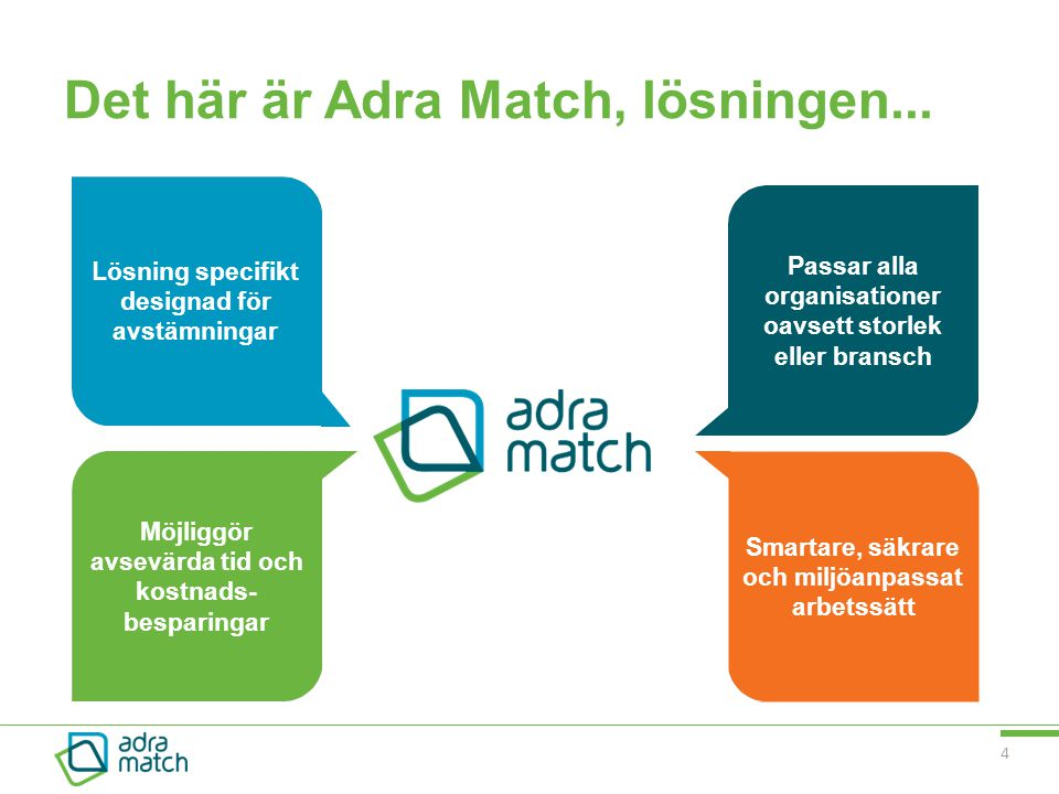 Det här är Adra Match, lösningen...
