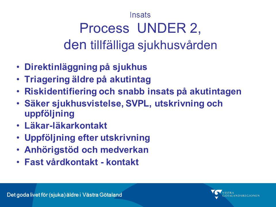 Insats Process UNDER 2, den tillfälliga sjukhusvården