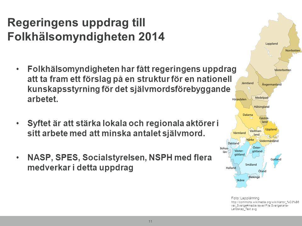Regeringens uppdrag till Folkhälsomyndigheten 2014