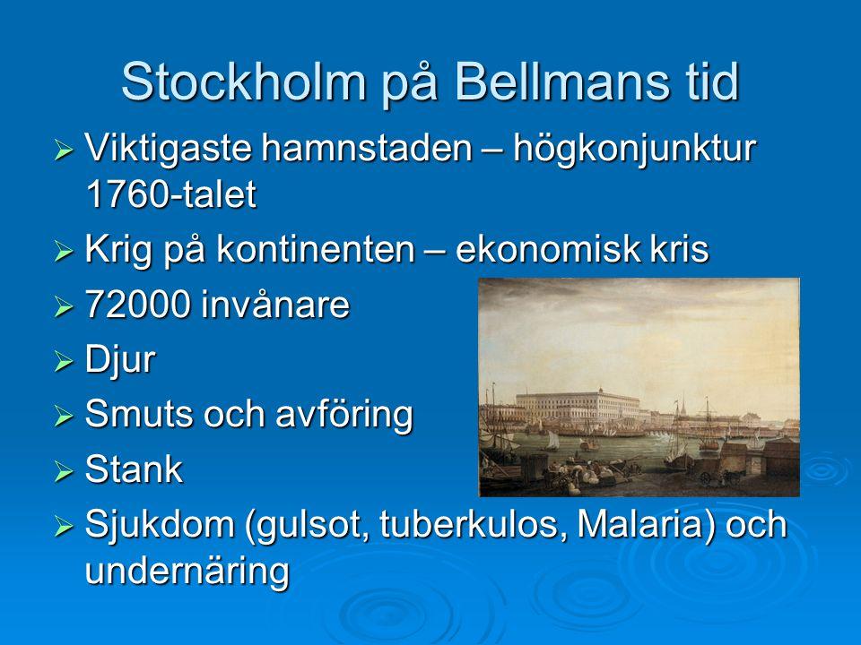 Stockholm på Bellmans tid