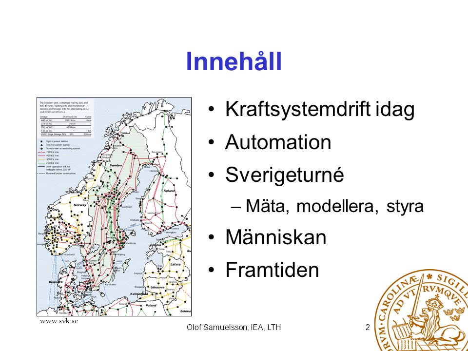 Olof Samuelsson, IEA, LTH