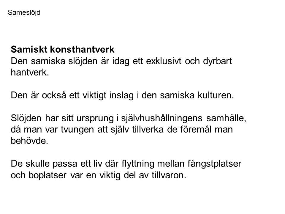 Samiskt konsthantverk