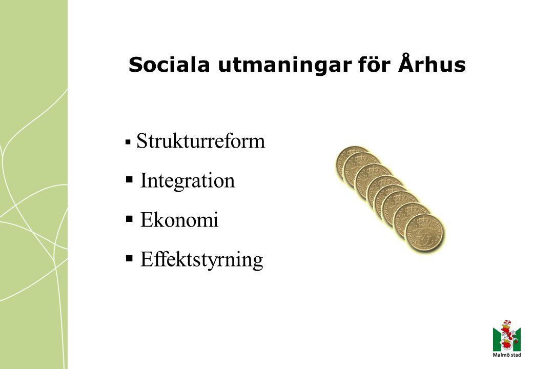 Sociala utmaningar för Århus