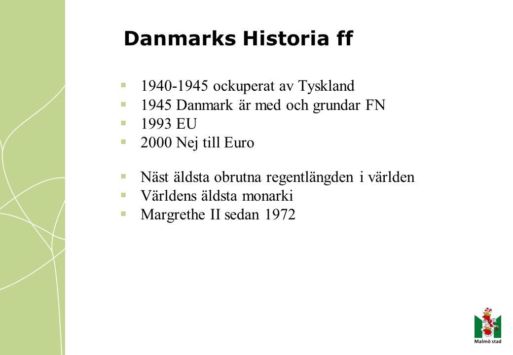 Danmarks Historia ff 1940-1945 ockuperat av Tyskland