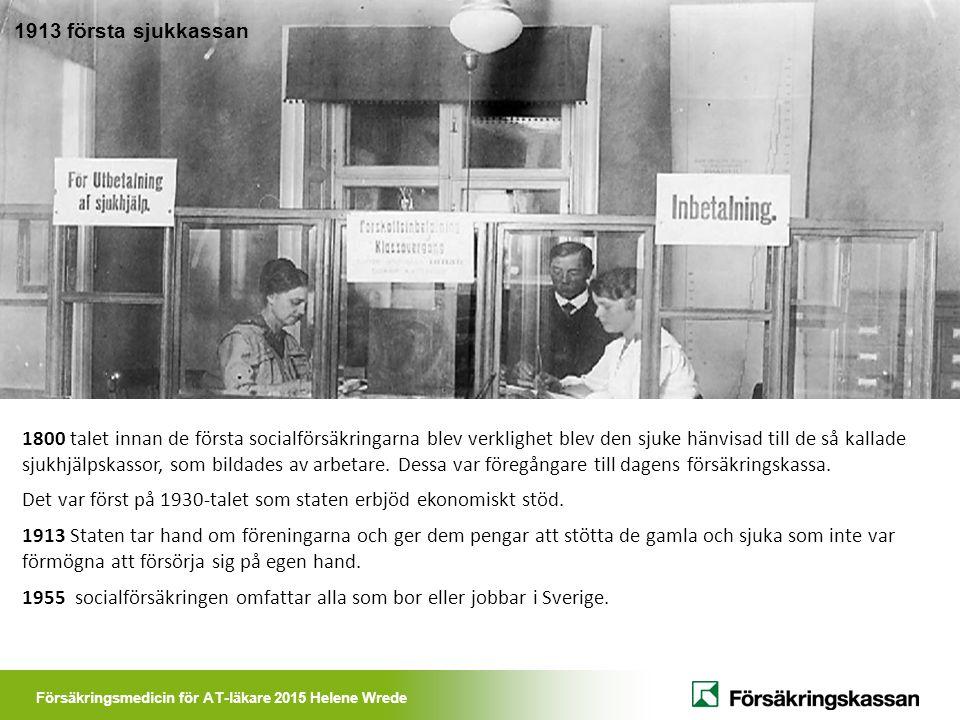 1913 första sjukkassan