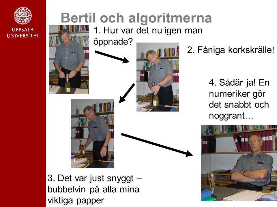 Bertil och algoritmerna