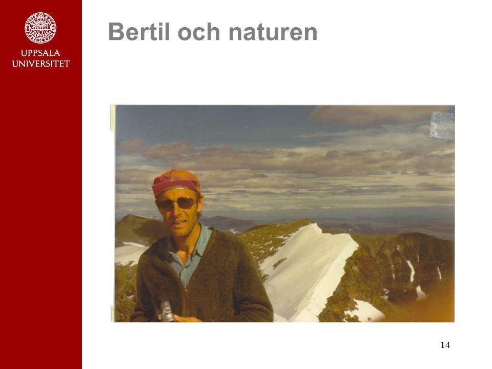 Bertil och naturen