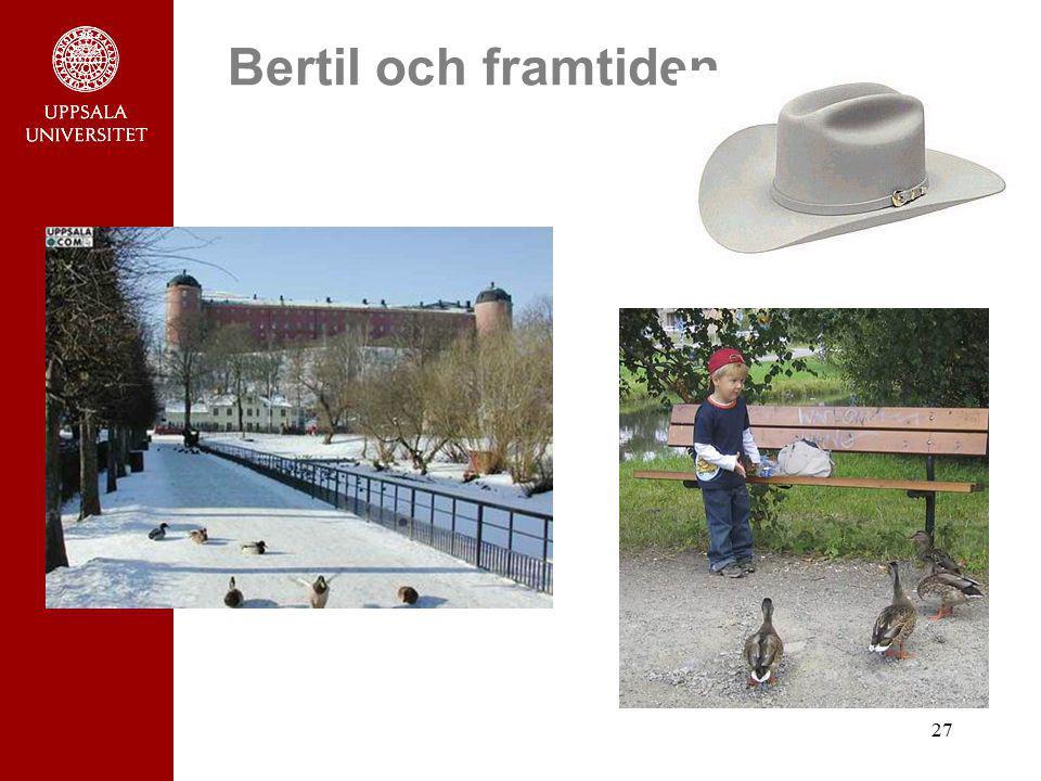 Bertil och framtiden