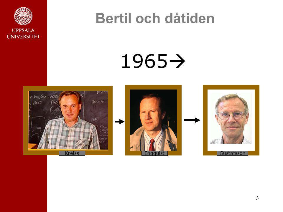 Bertil och dåtiden 1965 Kreiss Engquist Gustafsson