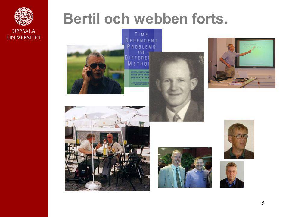 Bertil och webben forts.