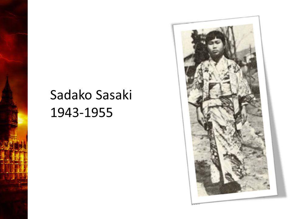 3. Delandet av månen Sadako Sasaki 1943-1955