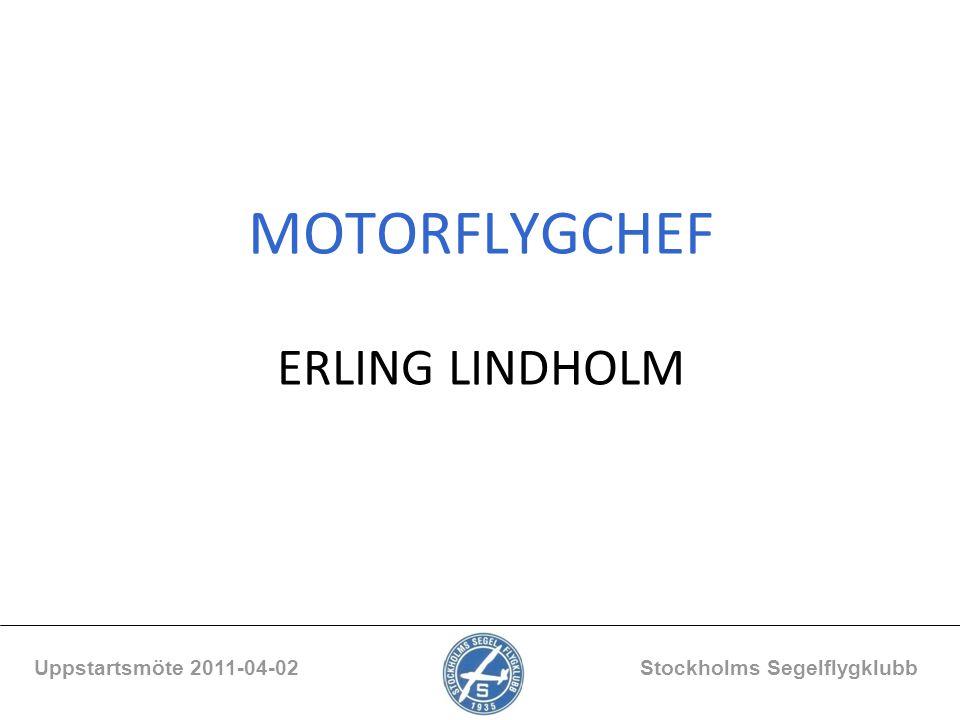 MOTORFLYGCHEF ERLING LINDHOLM