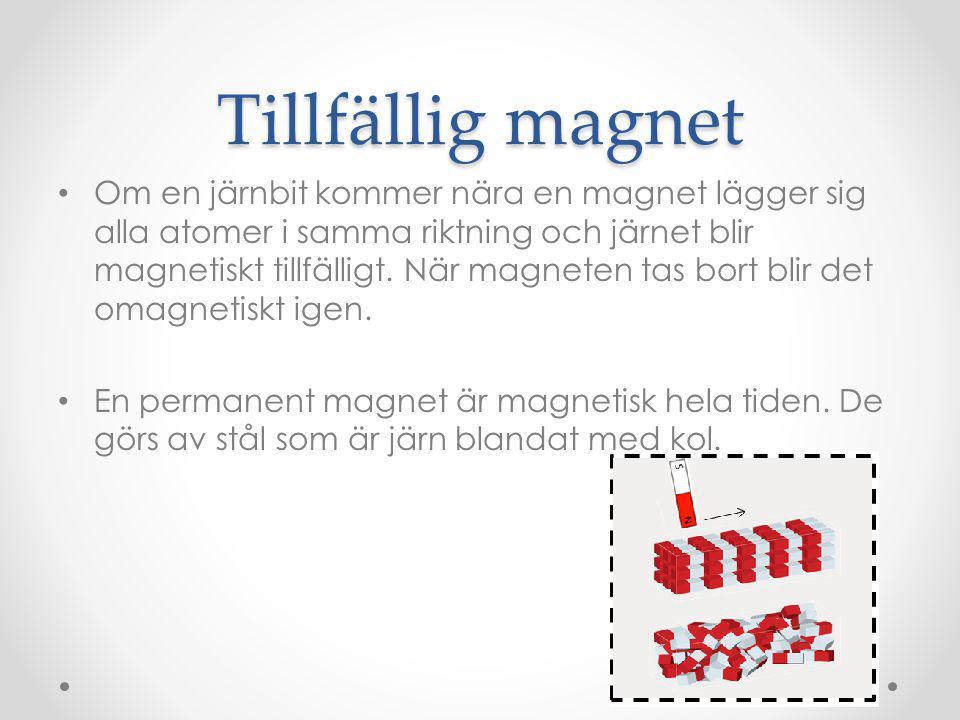 Tillfällig magnet