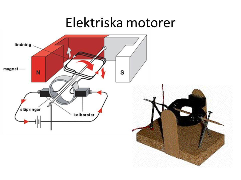 Elektriska motorer