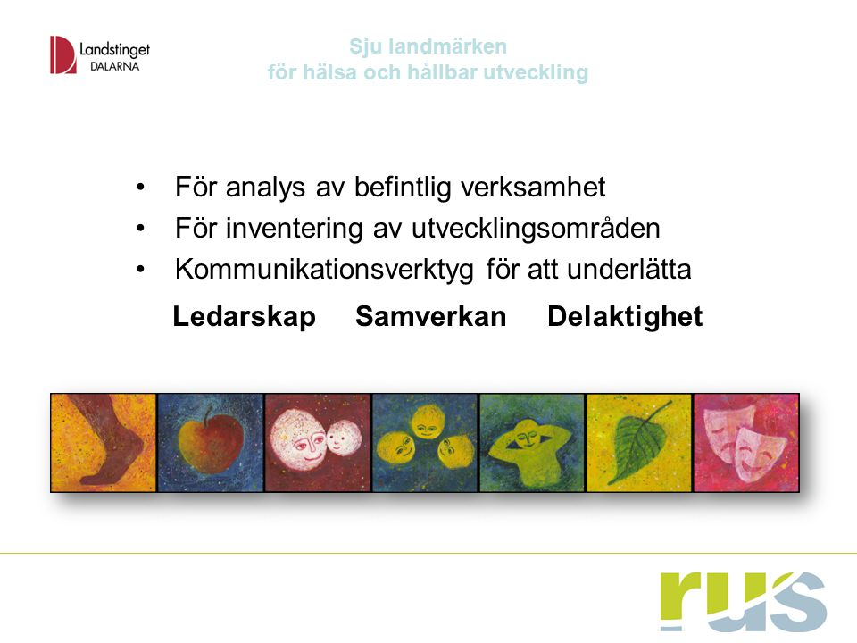 för hälsa och hållbar utveckling