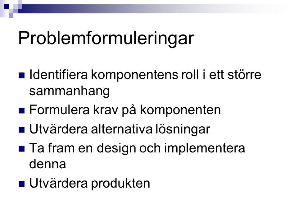 Problemformuleringar
