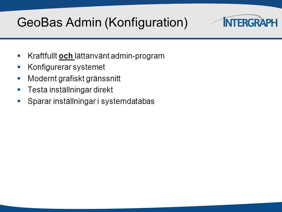 GeoBas Admin (Konfiguration)