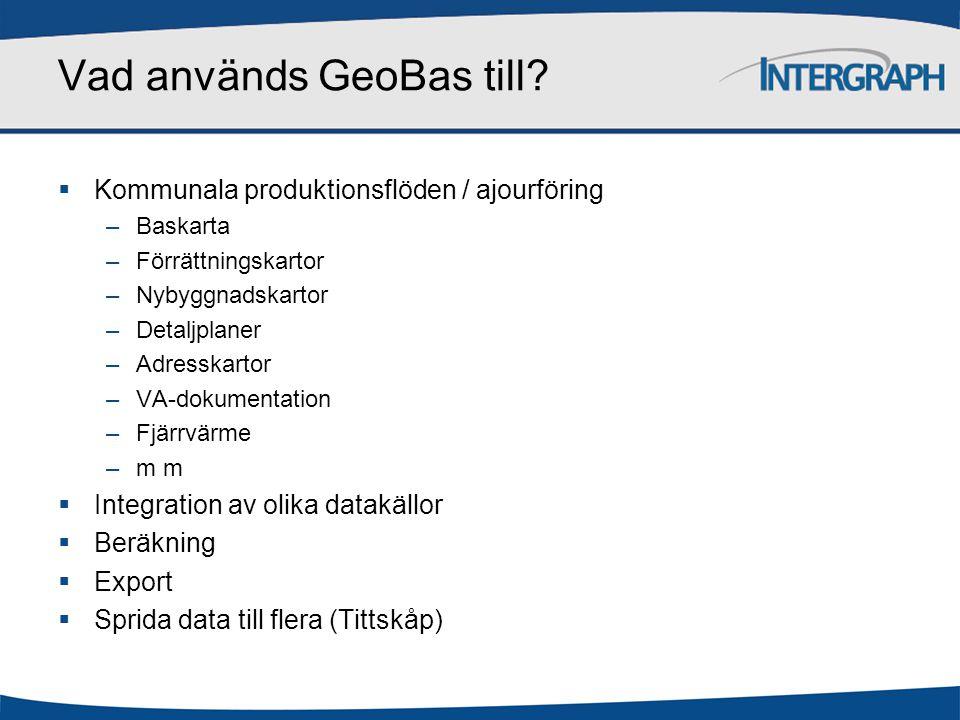 Vad används GeoBas till