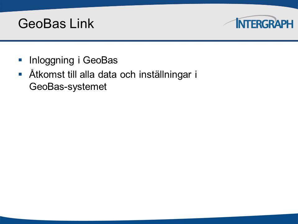 GeoBas Link Inloggning i GeoBas