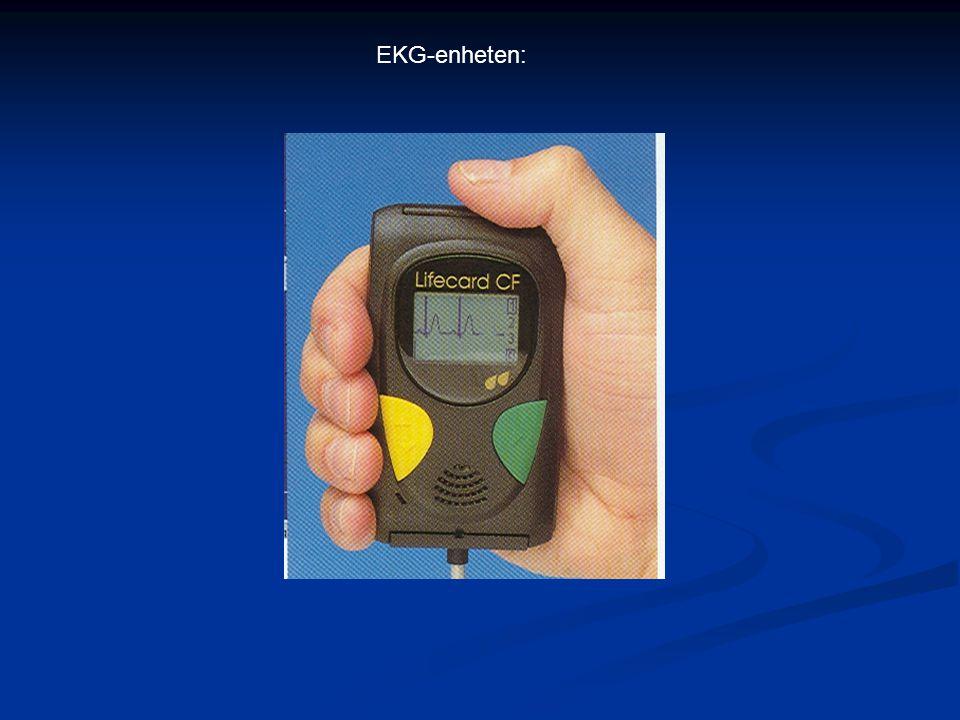 EKG-enheten: