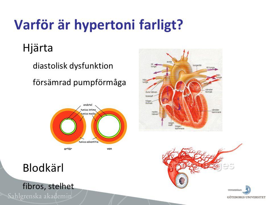 Varför är hypertoni farligt