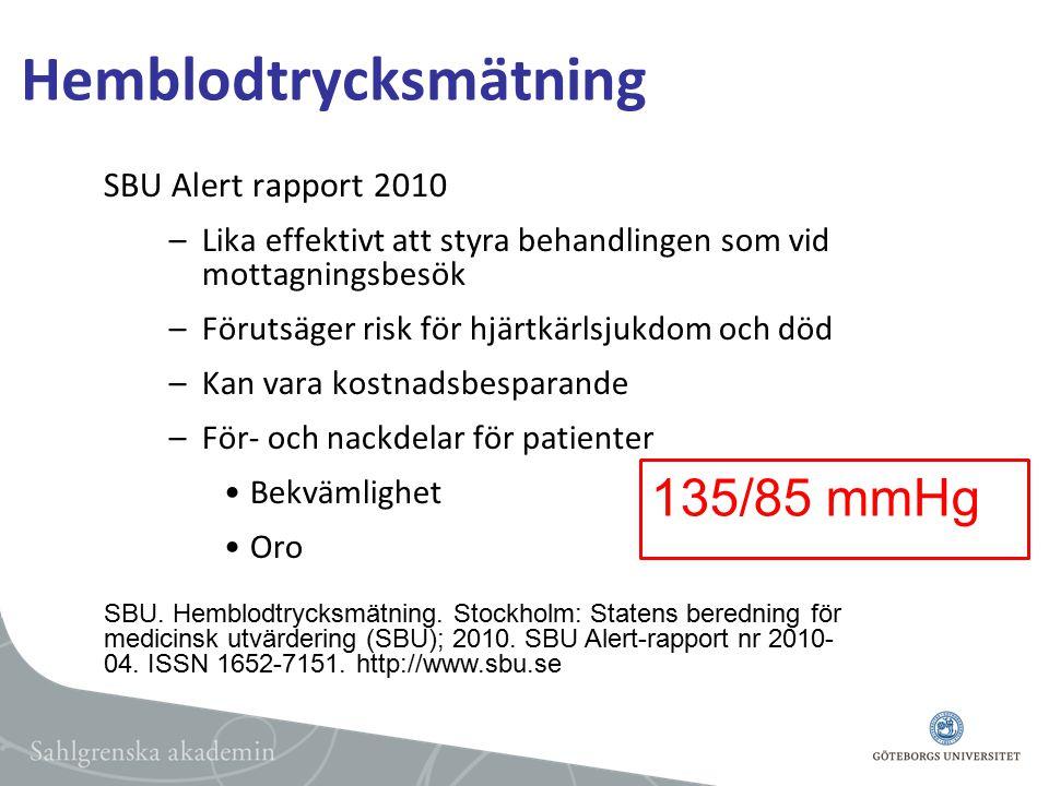 Hemblodtrycksmätning