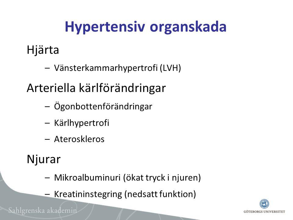 Hypertensiv organskada