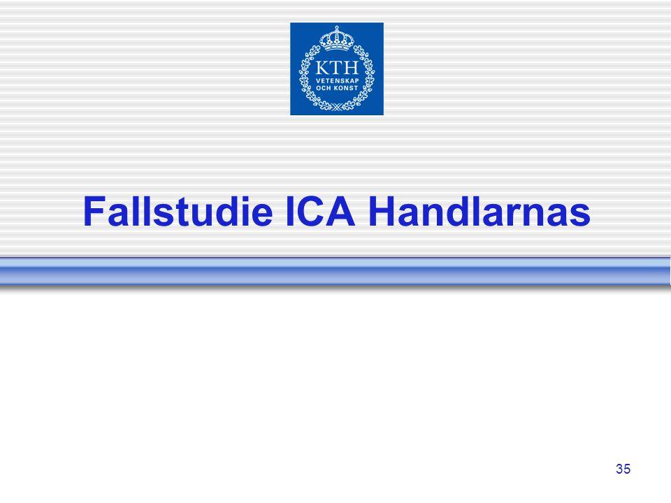Fallstudie ICA Handlarnas