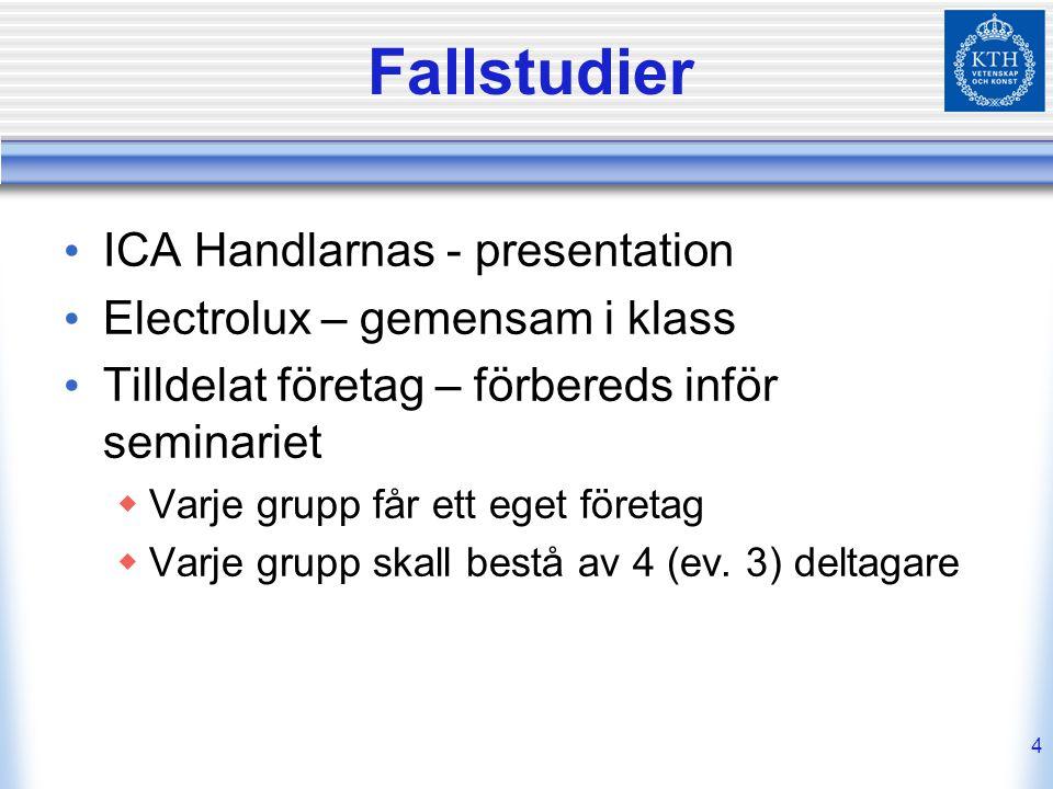 Fallstudier ICA Handlarnas - presentation