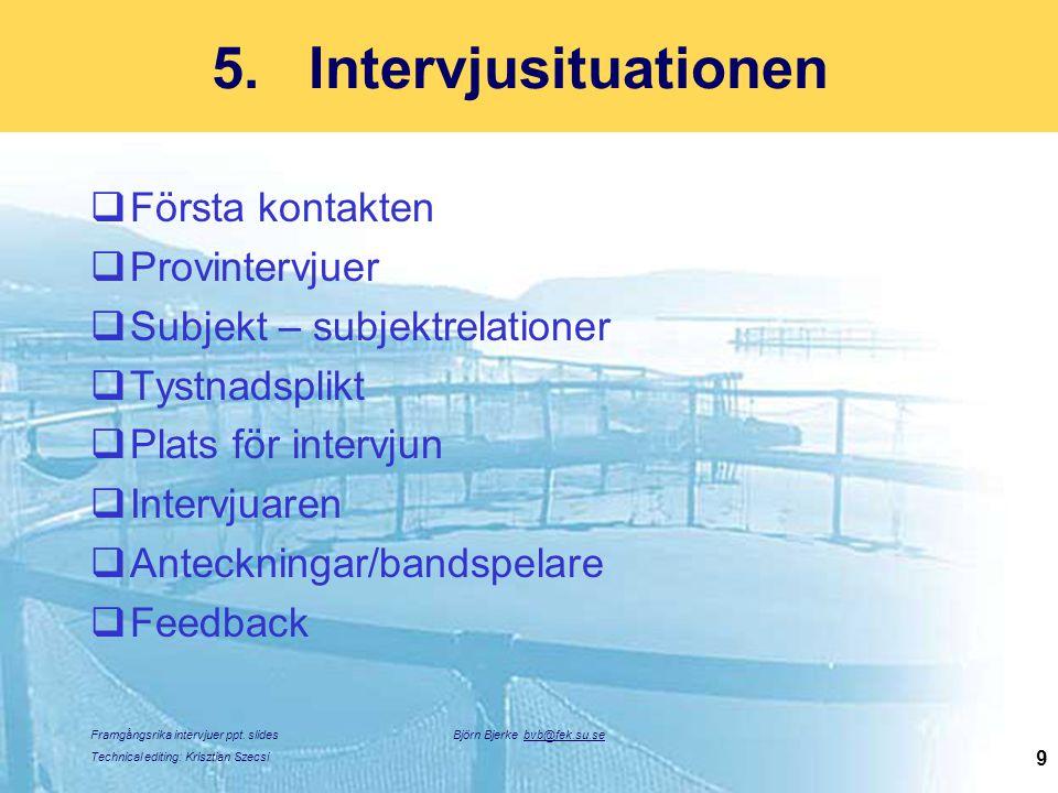 Björn Bjerke bvb@fek.su.se
