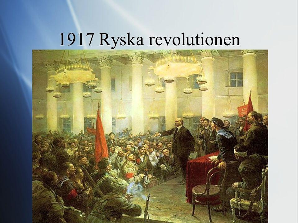 1917 Ryska revolutionen