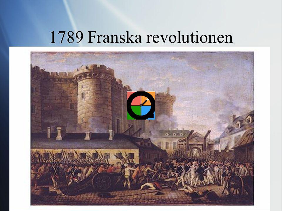 1789 Franska revolutionen