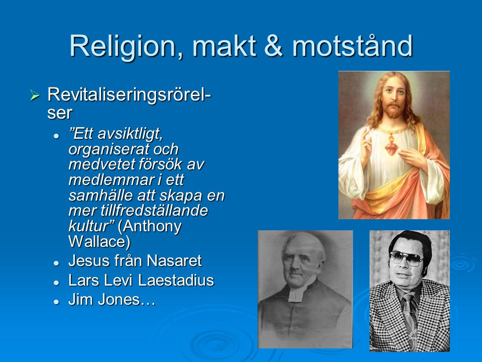 Religion, makt & motstånd