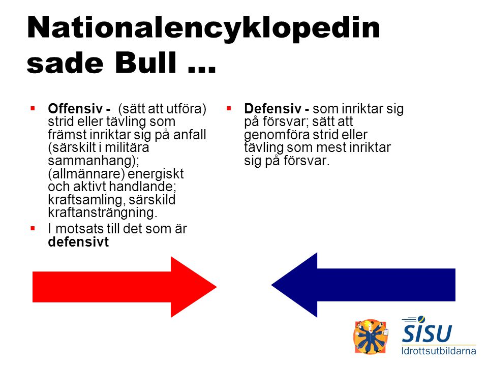 Nationalencyklopedin sade Bull ...