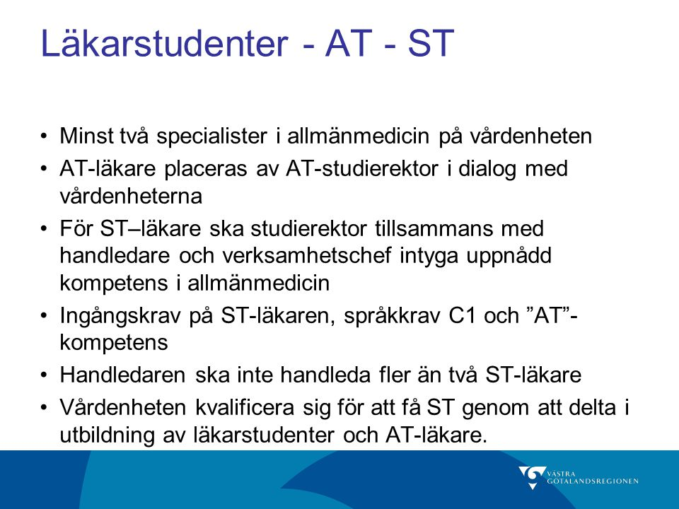 Läkarstudenter - AT - ST
