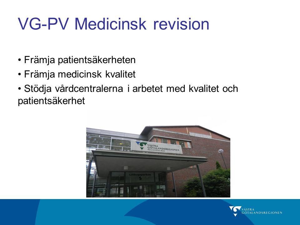 VG-PV Medicinsk revision