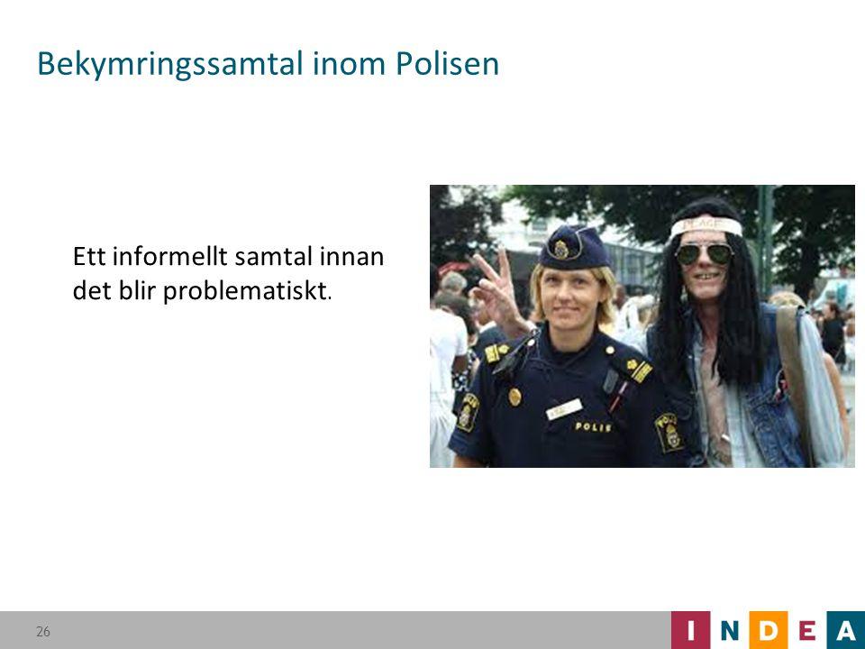 Bekymringssamtal inom Polisen