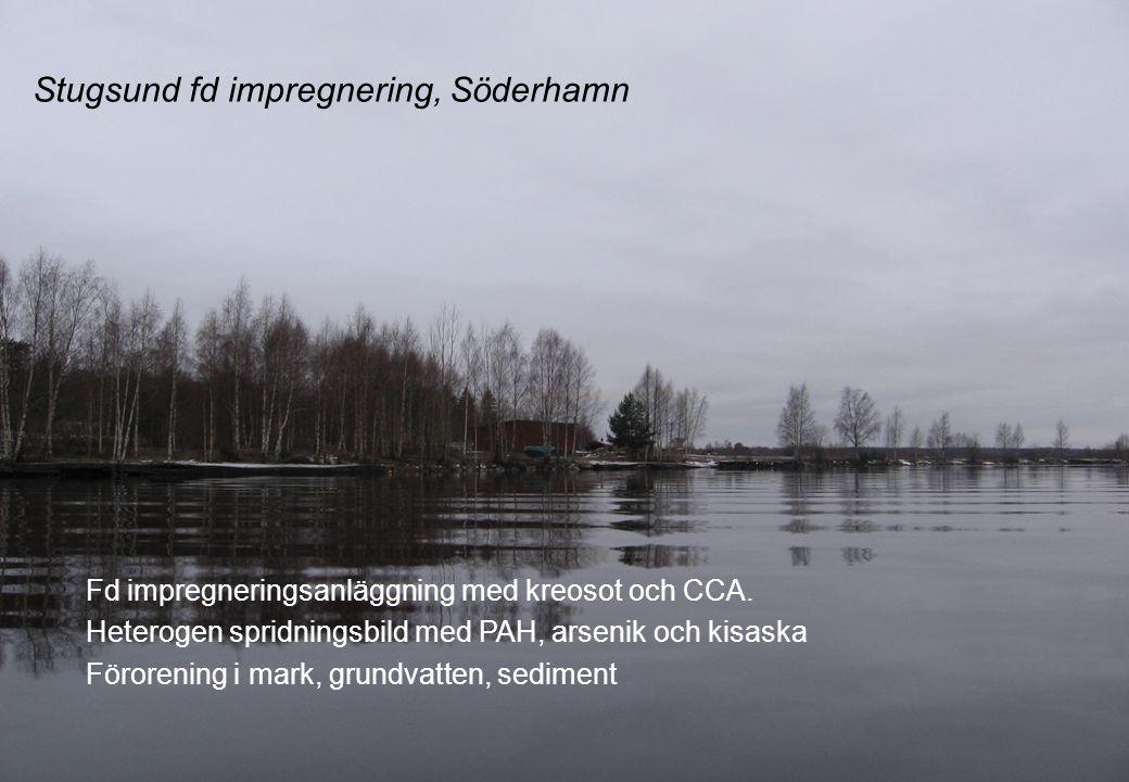 Stugsund fd impregnering, Söderhamn