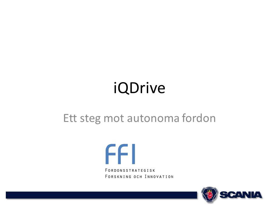 Ett steg mot autonoma fordon