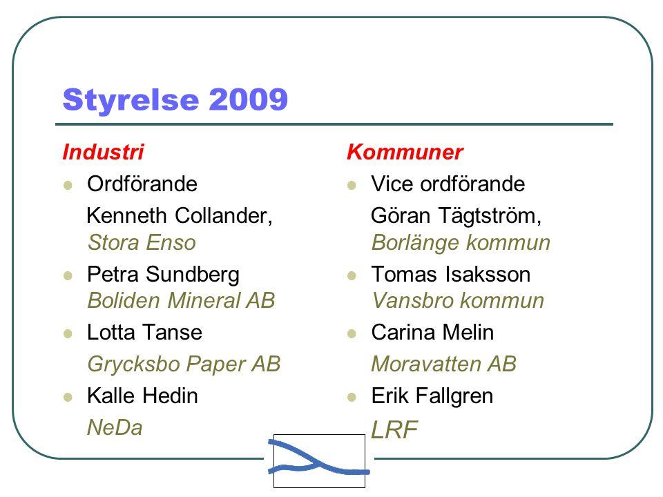 Styrelse 2009 Industri Ordförande Kenneth Collander, Stora Enso