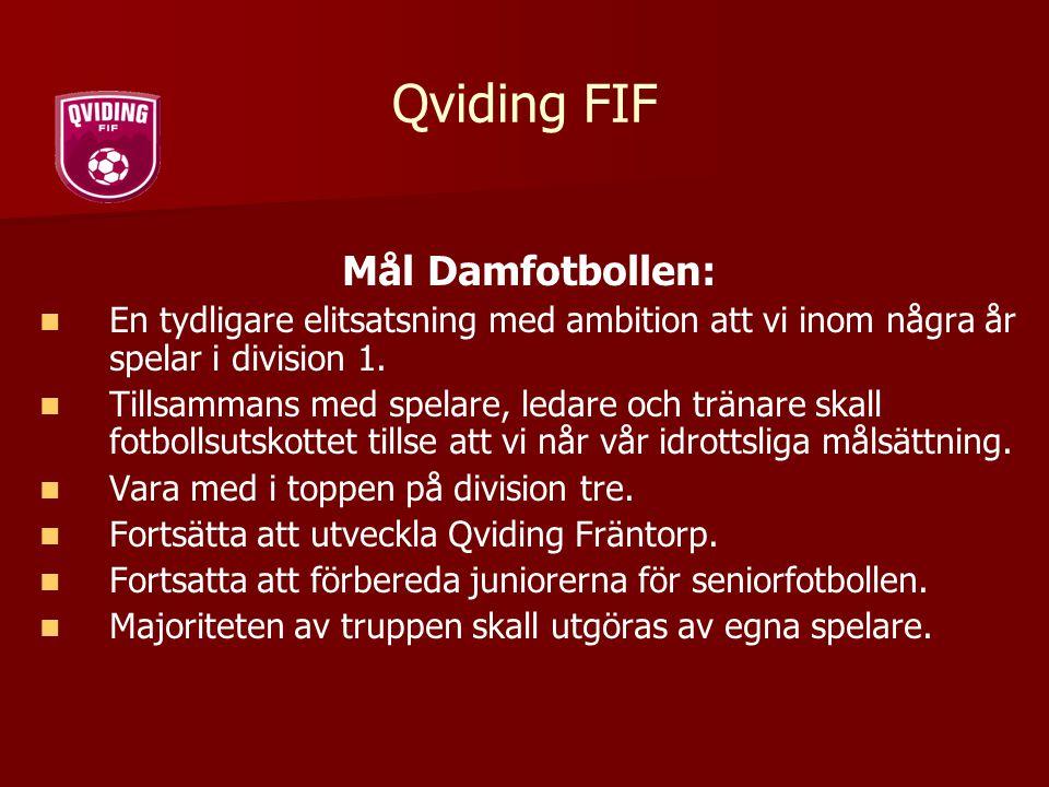 Qviding FIF Mål Damfotbollen: