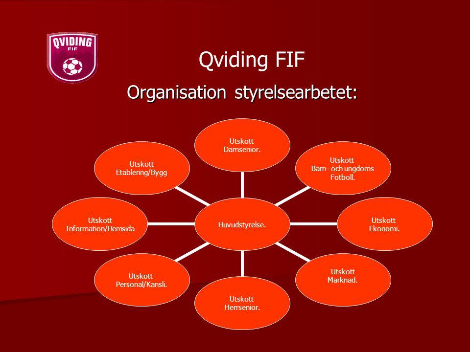 Organisation styrelsearbetet: