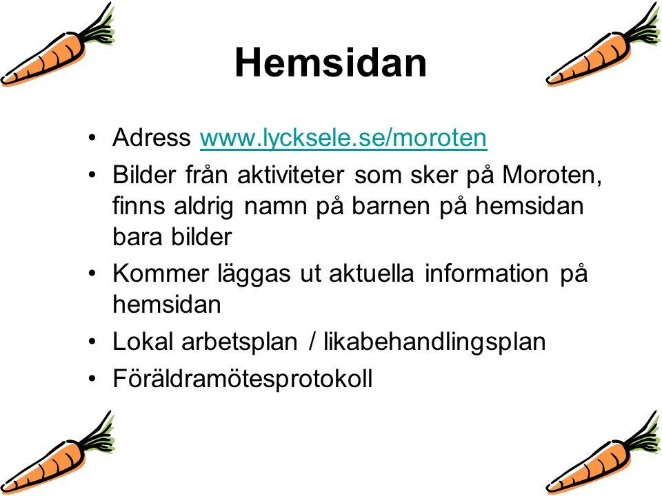 Hemsidan Adress www.lycksele.se/moroten