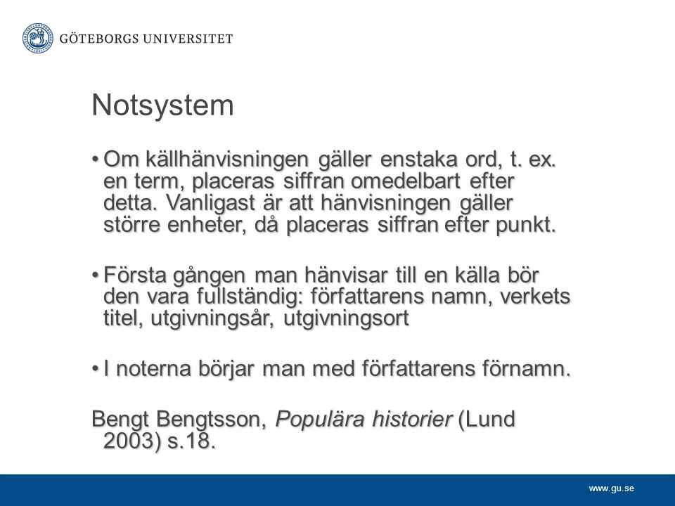 Notsystem