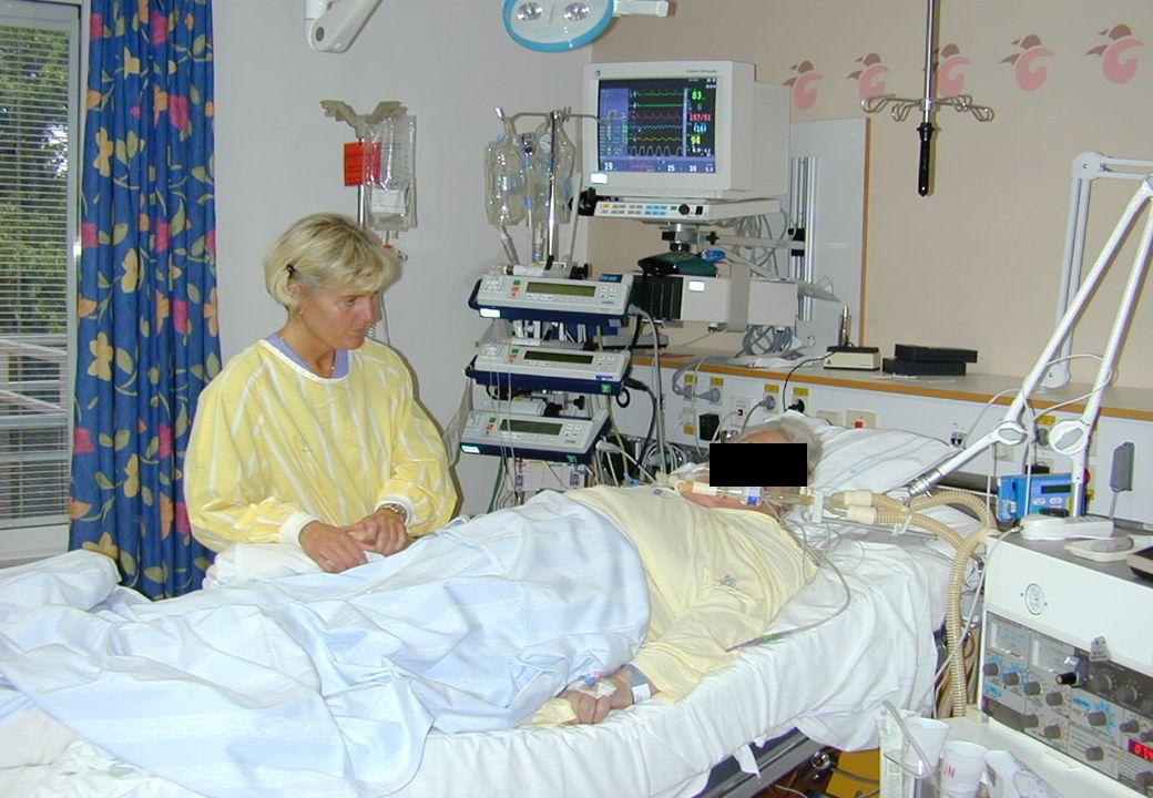 april 2009 Den här patienten gör det. Bildlikt talat.