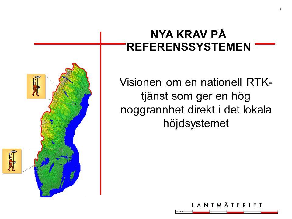 NYA KRAV PÅ REFERENSSYSTEMEN