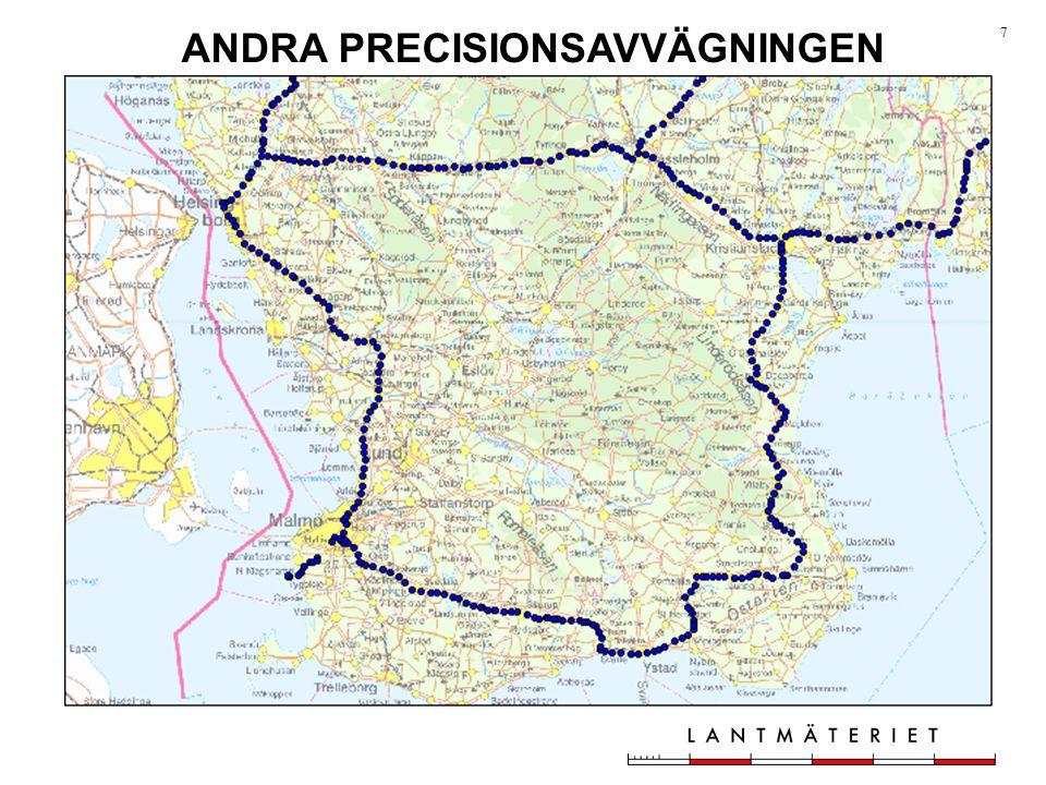 ANDRA PRECISIONSAVVÄGNINGEN