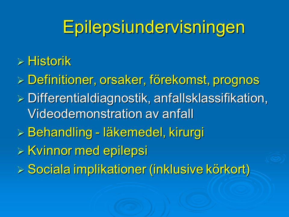 Epilepsiundervisningen